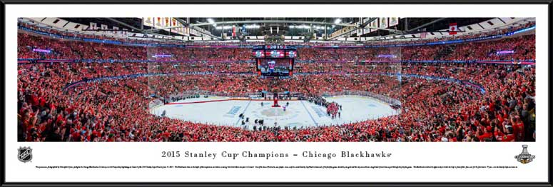 NHL - Chicago Blackhawks - Stanley Cup Champions 2015 - Framed Picture