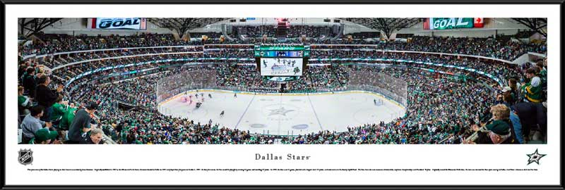 NHL - Dallas Stars - American Airlines Center 2014 - Framed Picture