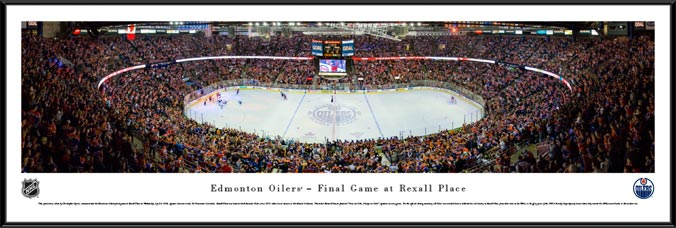 NHL - Edmonton Oilers - Rexall Place - Framed Picture