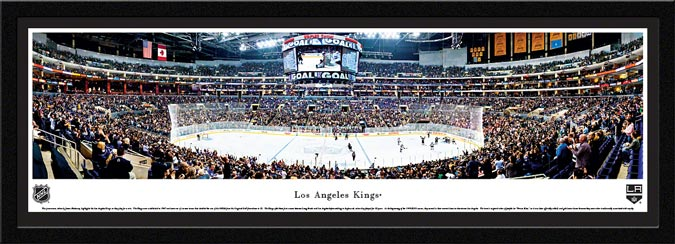 NHL - Los Angeles Kings - Staples Center - Framed Picture