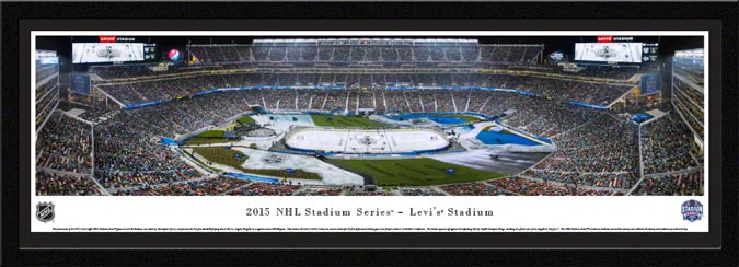 NHL - Los Angeles Kings - Levis Stadium - NHL Stadium Series - Framed Picture