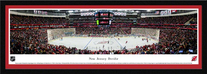 NHL - New Jersey Devils - Prudential Center - Framed Picture