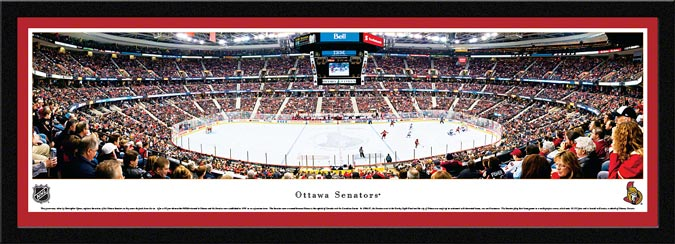NHL - Ottawa Senators - Scotiabank Place - Framed Picture